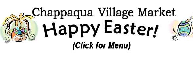 Click for Our Easter Menu