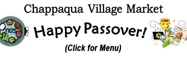 Click for our Passover Menu