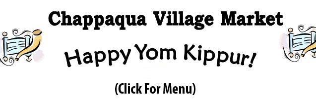 Click for our Yom Kippur Menu