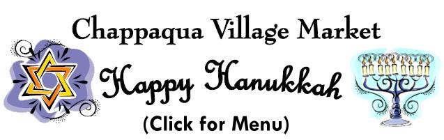 Click for our Hanukkah Menu